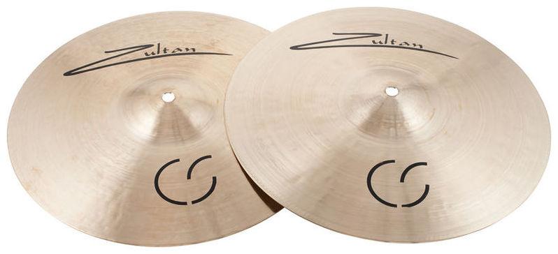 Тарелка хай-хэт Zultan 13 Hi-Hat CS Series хай хэт и контроллер для электронной ударной установки millenium mps 200 mono cymbal pad