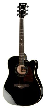 Электроакустическая гитара Ibanez AW70ECE-BK