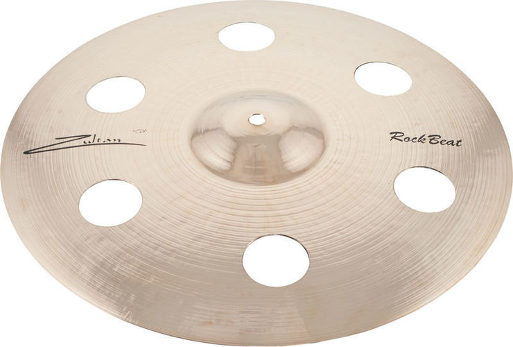 Тарелка крэш Zultan 16 Rock Beat Crash Holey zildjian s family rock cymbal set 14 s rock hi hats 18 s rock crash 20 s rock crash 22 s rock ride