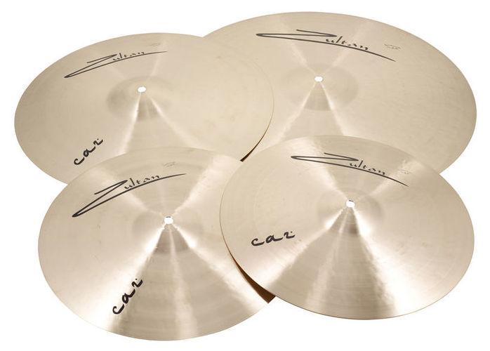 Набор барабанных тарелок Zultan Caz Series Standard Set тарелка хай хэт zultan 13 hi hat cs series