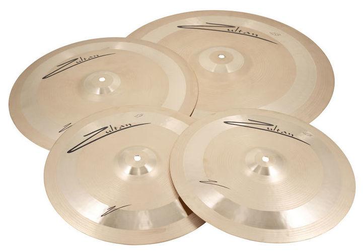 Набор барабанных тарелок Zultan Z Series Standard Set тарелка хай хэт zultan 13 hi hat cs series