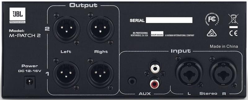 Контроллер, элемент управления JBL M-Patch 2