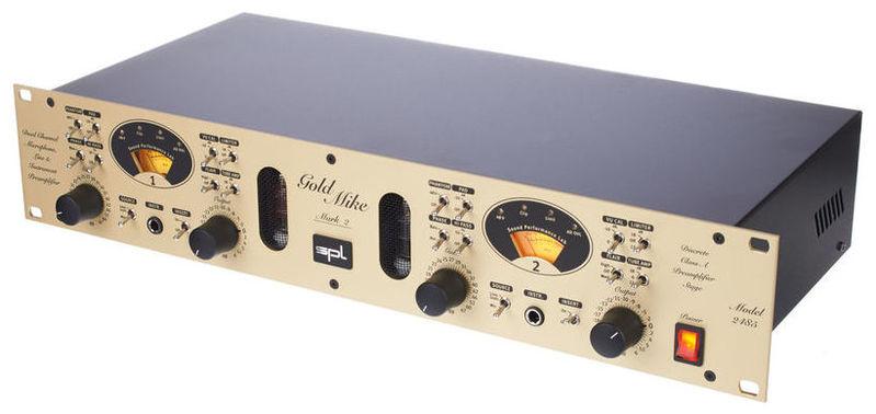 Микрофонный предусилитель SPL GoldMike MK2 предусилитель стерео icon audio ba 2 mk ii