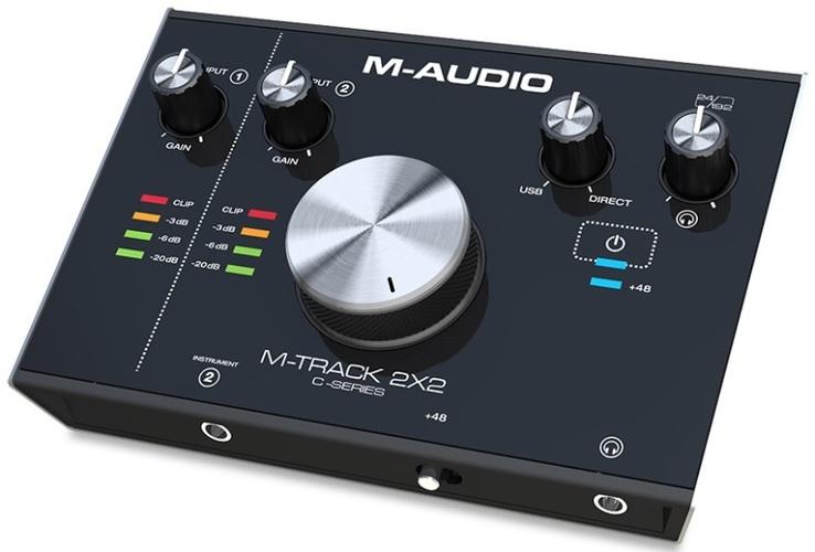 Звуковая карта внешняя M-Audio M-Track 2X2