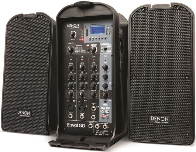 Комплект акустических систем Denon Envoi Go контроллер акустических систем dbx driverack pa 2