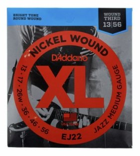 D'Addario EJ22 NICKEL WOUND