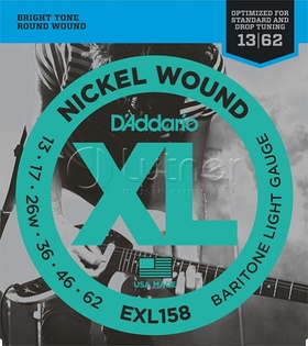 D'Addario EXL 158 XL Nickel Wound