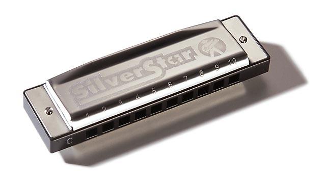 Губная гармошка HOHNER M50410 Silver Star A-major