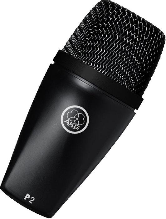 Универсальный инструментальный микрофон AKG P2 динамический микрофон akg d7