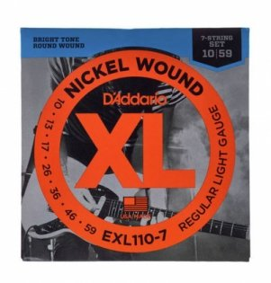 D'Addario EXL110-7 XL Nickel Wound