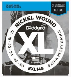 D'Addario EXL 148 XL Nickel Wound