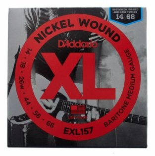 D'Addario XL 157 Nickel Wound