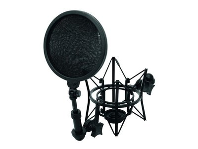 Omnitronic PS1 Microphone Pop Filter/Shockmount