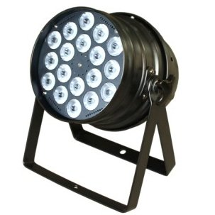Прожектор LED PAR 64 INVOLIGHT LED PAR184 BK