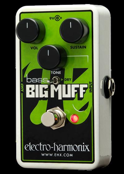 Педаль Overdrive и Distortion Electro-Harmonix Nano Bass Big Muff PI douk audio 1pc electro harmonix eh kt90