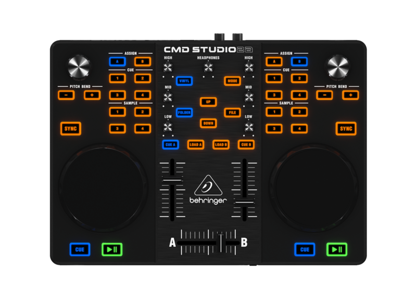MIDI, Dj контроллер Behringer CMD Studio 2А