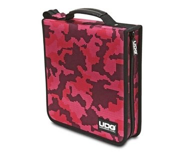 UDG Ultimate CD Wallet 128 Digital Camo Pink