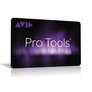 Avid Pro Tools Institution Activation Card