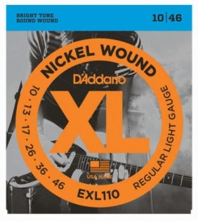 D'Addario EXL110 Nickel Wound