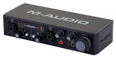 Аудиоинтерфейс M-Audio M-Track 2X2