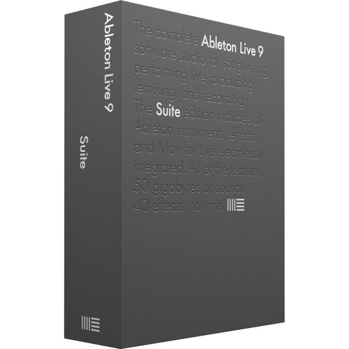 Софт для студии Ableton Live 9 Suite EDU софт для студии propellerhead reason 9 5