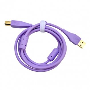 DJ TechTools DJTT USB Chroma Cable Purple 1.5m, straight