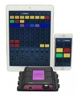 Visual Productions LPU-1 Cuety iPad Control