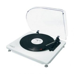 ION Audio Quickplay LP White