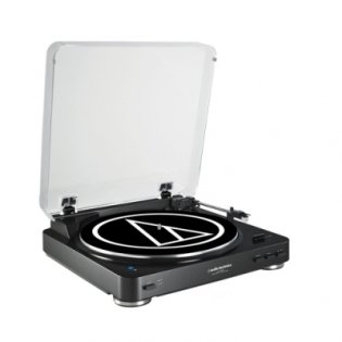 Audio-Technica AT-LP60BT BK