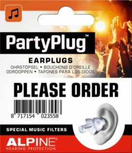 Alpine Party Plug Limited Edition
