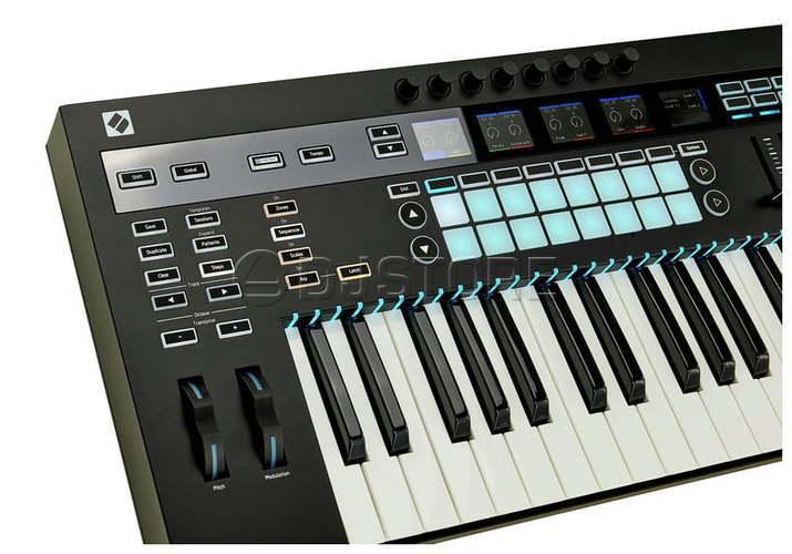 MIDI-клавиатура 61 клавиша Novation 61 SL MKIII