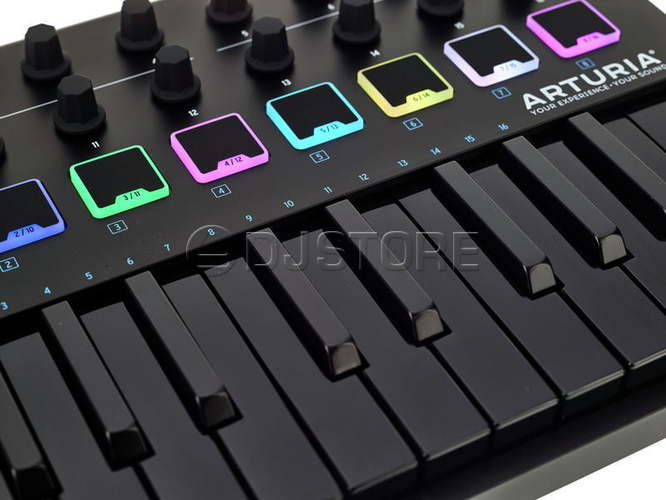 Arturia MiniLab MkII Deep Black Edition