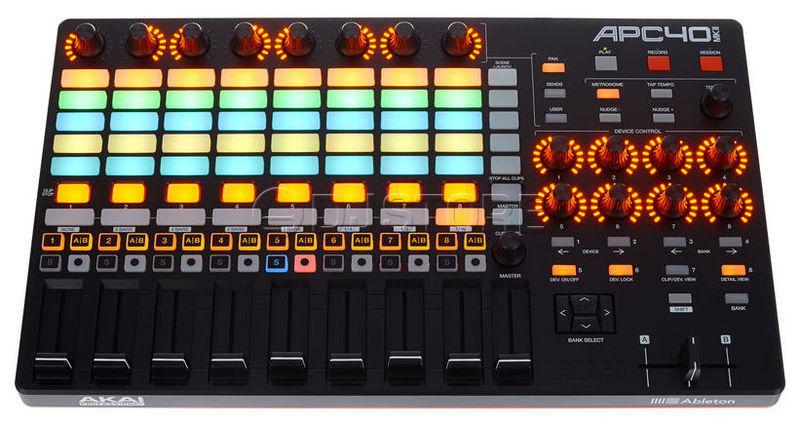 MIDI-контроллер AKAI APC40 MkII