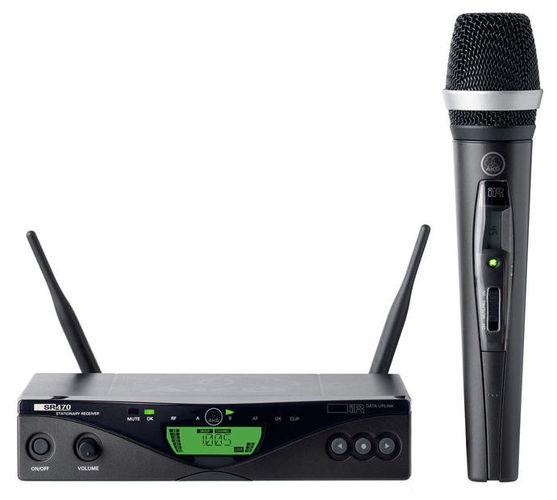 Готовый комплект радиосистемы AKG WMS 470 D5 Band 8 Set приёмник и передатчик для радиосистемы akg dsr700 v2 bd1