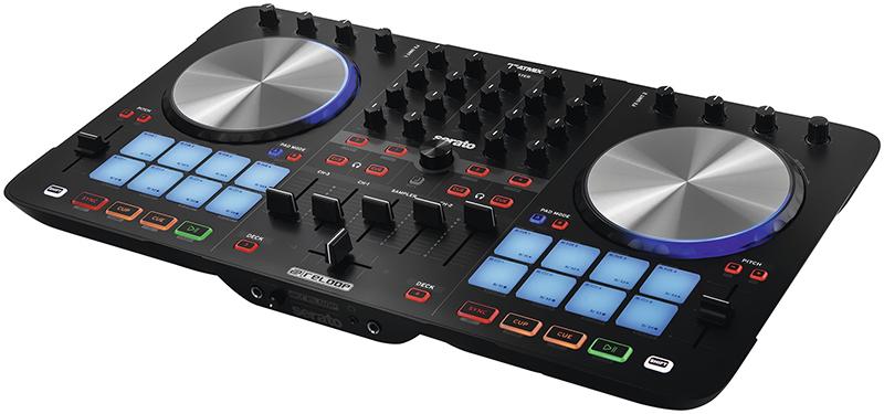 MIDI, Dj контроллер Reloop Beatmix 4 MK2 reloop beatmix 4