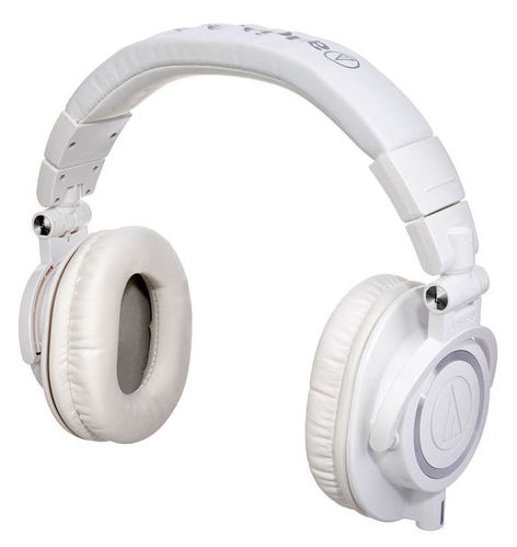 Наушники закрытого типа Audio-Technica ATH-M50 X WH наушники audio technica ath anc9