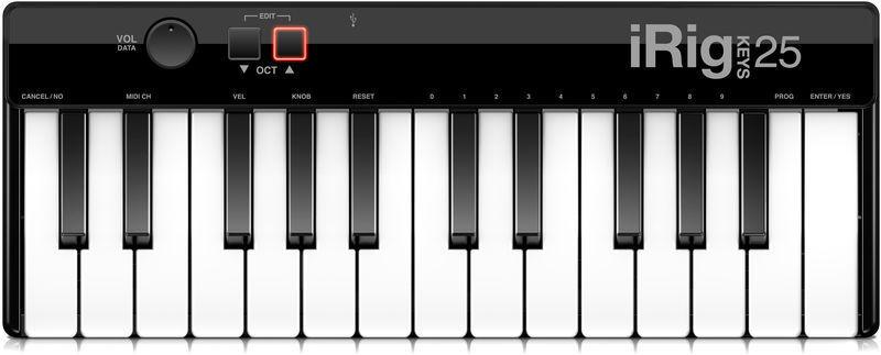 MIDI-клавиатура 25 клавиш IK Multimedia iRig Keys 25 цена