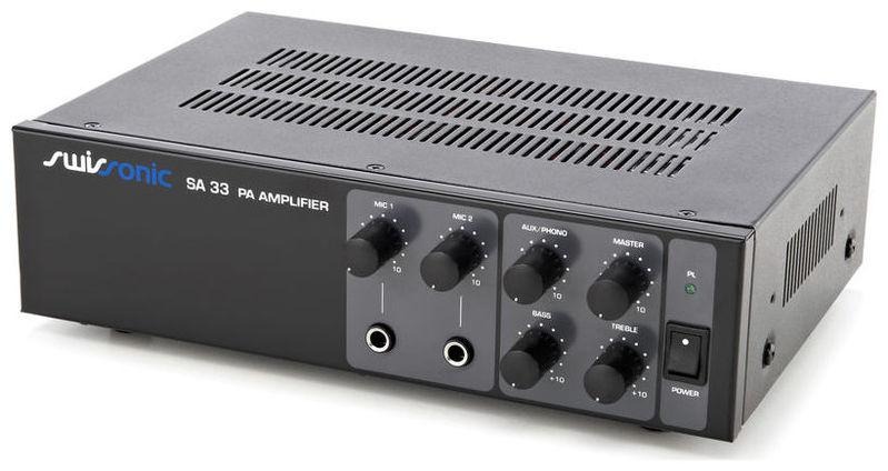 Трансляционный усилитель Swissonic SA 33 усилитель мощности 850 2000 вт 4 ом behringer europower ep4000