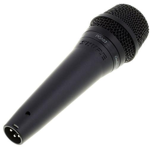 Универсальный инструментальный микрофон Shure PGA57-XLR стерео микрофон shure vp88