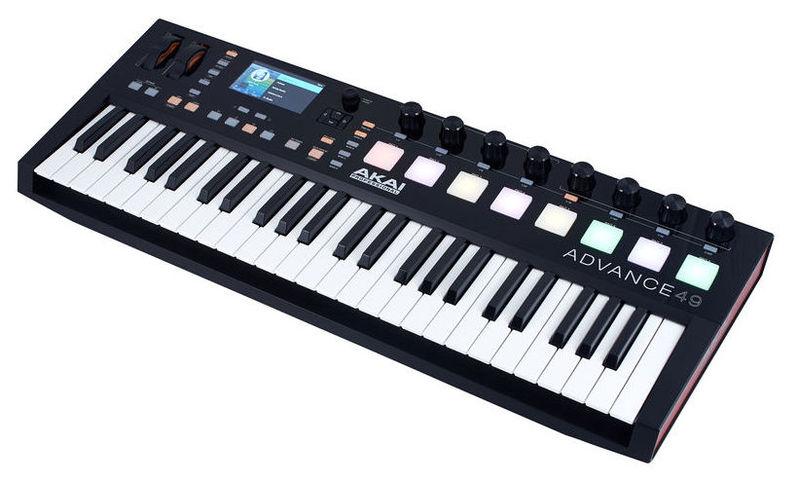 MIDI-клавиатура 49 клавиш AKAI Advance 49 цена