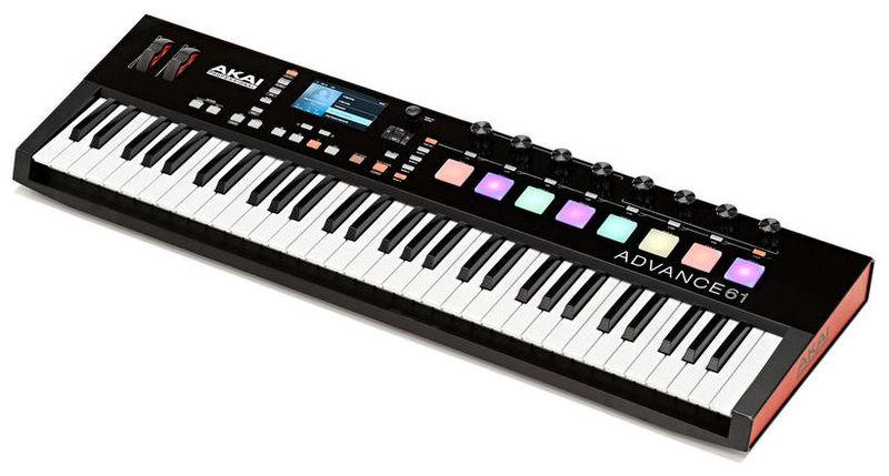 MIDI-клавиатура 61 клавиша AKAI Advance 61 midi клавиатура 61 клавиша miditech i2 61 black edition