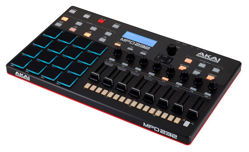 MIDI, Dj контроллер AKAI MPD232 midi контроллер akai professional mpc touch