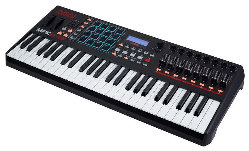 MIDI-клавиатура 49 клавиш AKAI MPK249 цена