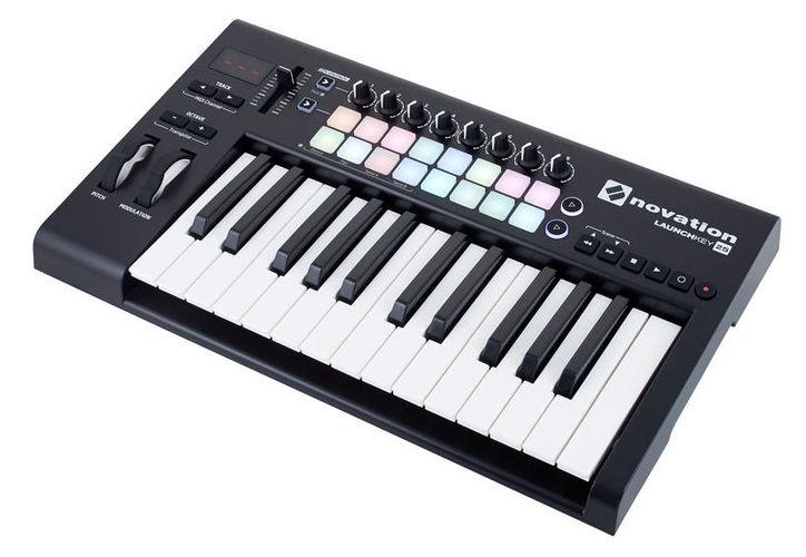 MIDI-клавиатура 25 клавиш Novation Launchkey 25 Mk2 цена