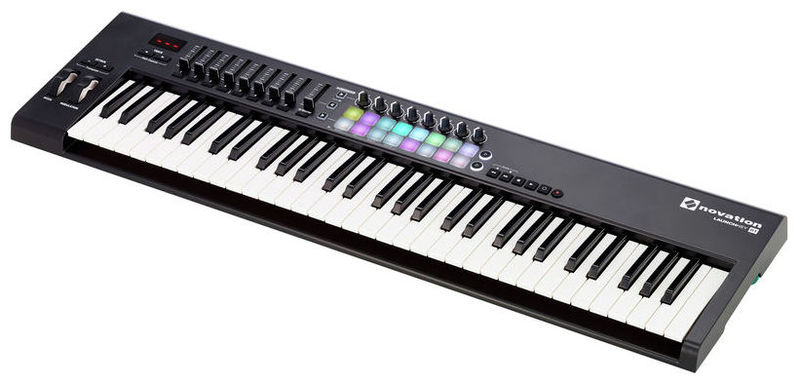 MIDI-клавиатура 61 клавиша Novation Launchkey 61 Mk2 карта памяти transcend 16gb microsdhc class 10 u1 uhs i 300x no adapter ts16gusdcu1 ts16gusdcu1