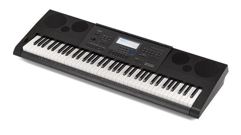Синтезатор Casio WK-6600 синтезатор casio wk 7600 76 невзвешенная полноразмерные 64 черный