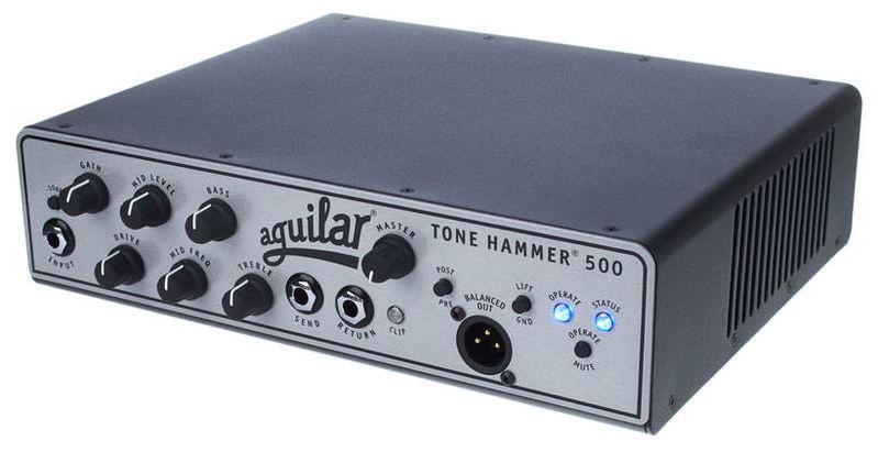 Усилитель голова для бас-гитары Aguilar Tone Hammer 500 басовый усилитель ampeg svt 3pro