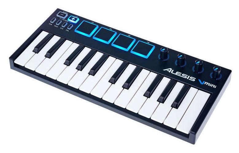 MIDI-клавиатура 25 клавиш Alesis V Mini радиосистема alesis miclink wireless