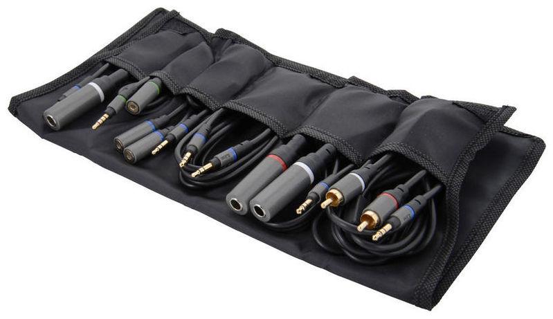 iOS коммутация IK Multimedia iLine Mobile Music Cable Kit