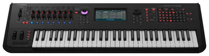 Синтезатор Yamaha Montage 6 синтезатор yamaha dgx 520 кредит